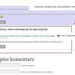 Pingbacki i trackbacki w WordPressie - obrazek 11.