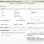 WordPress jako CMS - Kokpit