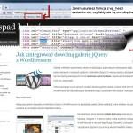 WordPress jako CMS - Opera