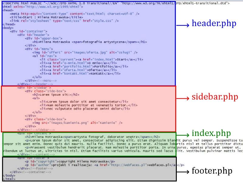 WordPress jako CMS - konwersja statycznej strony HTML do WordPressa - Webfaces Blog