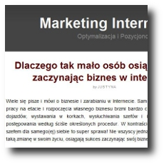 Marketing Internetowy Ujarzmiony