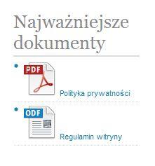 Jak wyświetlić w WordPressie odnośniki do plików z ikonką typu dokumentu