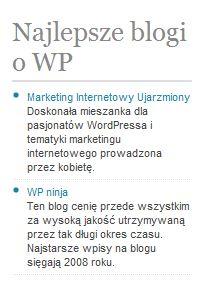 Jak wyświetlić opis odnośnikaw w WordPressie w nowej linii