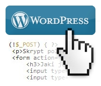 WordPress formularz php