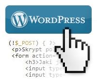 WordPress formularz php