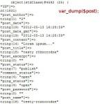 var_dump w WordPressie