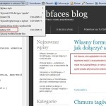 Edycja kodu CSS za pomocą paska Web Developer