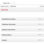 Menu obrazkowe w WordPressie - dodanie stron