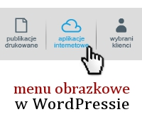 WordPress - menu na obrazkach