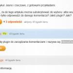 Wtyczka IntenseDebate Comments