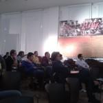 Zasłuchani uczestnicy - Sala BHP Stoczni Gdańskiej, WordCamp 2012