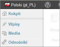 Zmiana języka Kokpitu w WordPressie