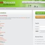 Witryna wtyczki Events Manager