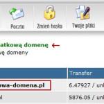 Dodanie domeny w linuxpl.com