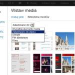Zdjęcia załadowane do wpisu w WordPressie