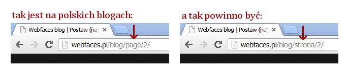 page strona wordpress