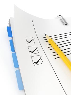 Prace nad stroną - checklist