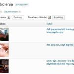 Zarządzanie szkoleniami z panelu admina w WordPressie