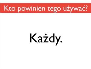 Slajd z prezentacji Bartka Romanowskiego. WordCamp Wrocław 2013.
