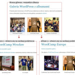 Galeria WordPress Albumy