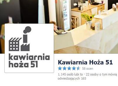 Spotykamy się w kawiarni Hoża w Warszawie