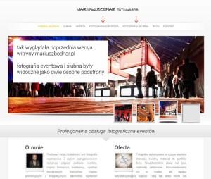 mariuszbodnar.pl - witryna przed zmianami