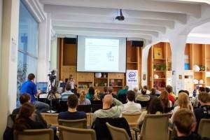 WordCamp Praga - widzowie