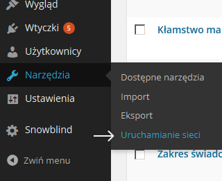 WordPress Multisite - uruchamianie sieci
