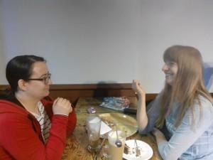 Aga, autorka bloga rozmawia z Kasią, organizatorką WordUpa