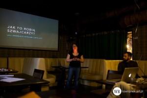Kasia Świderska opowiada o WordCamp Zurich