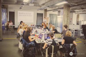 Szkolenie z WordPressa dla Geek Girls Carrots w Krakowie