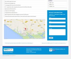 Każda nieruchomość na stronie imoalk.com ma swój indywidualny formularz kontaktowy