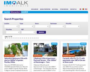 Wyszukiwarka na stronie imoalk.com utworzona przez Antonio bez PHP