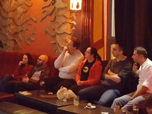 Publiczność w czasie prezentacji Piotrka
