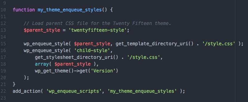 Jak prawidłowo załączać pliki CSS w motywie potomnym
