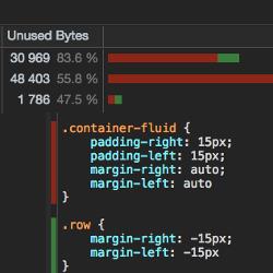 Jak znaleźć nieużywane klasy CSS