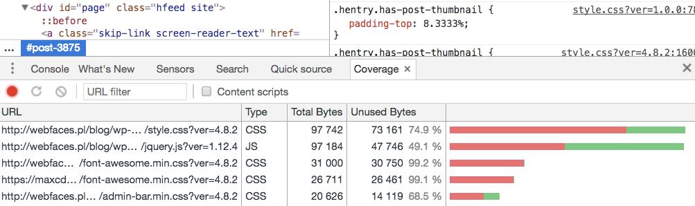 Wykorzystanie kodu CSS na stronie