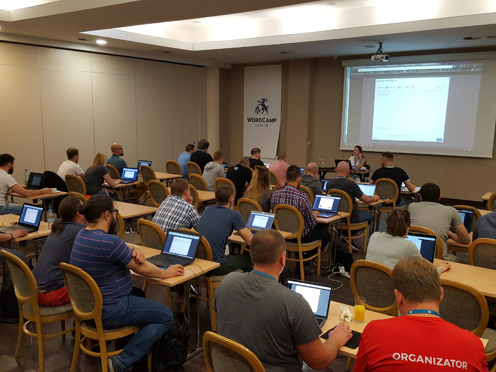 WordCamp Lublin - warsztaty