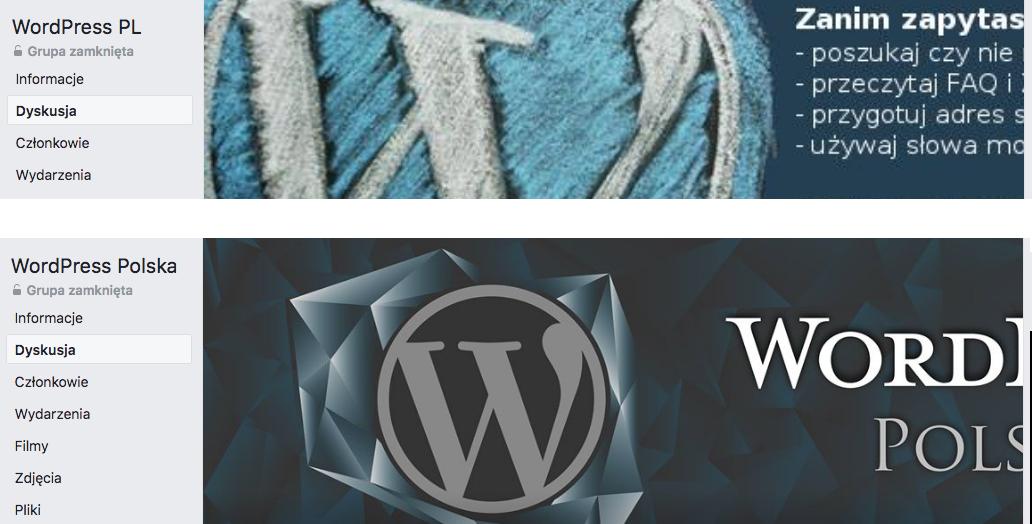 WordPressowe grupy wsparcia na Facebooku