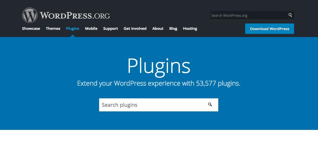 WordPress repozytorium wtyczek - wordpress.org/plugins