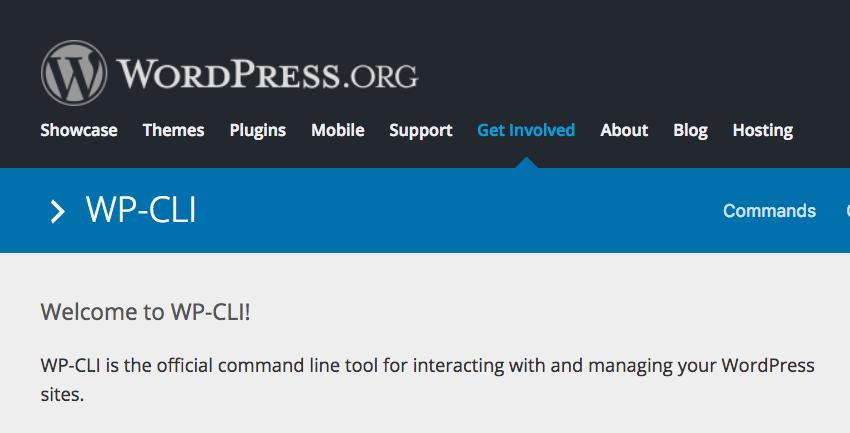WP-CLI przechodzi pod wordpress.org