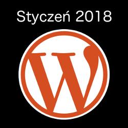 Wydarzenia WordPress styczeń 2018
