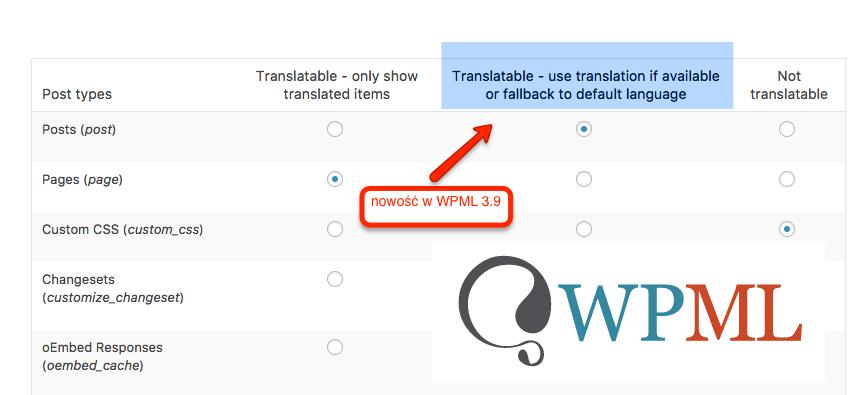 Wyświetlanie wpisów języka oryginału, jeśli tłumaczenie nie istnieje