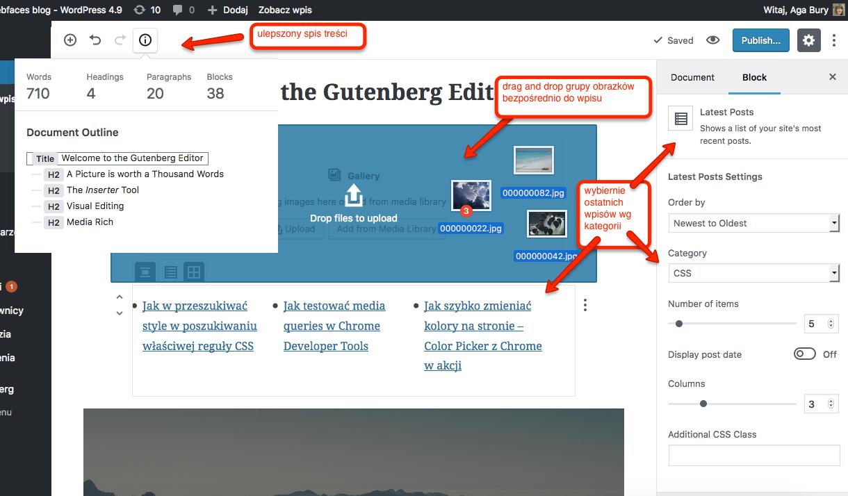 Zmiany wnoszone przez Guntenberg 2.0