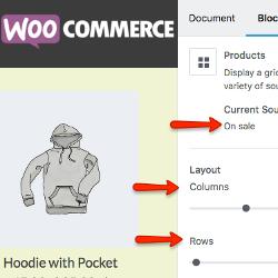 WooCommerce i Gutenberg - nowy blok Produkty