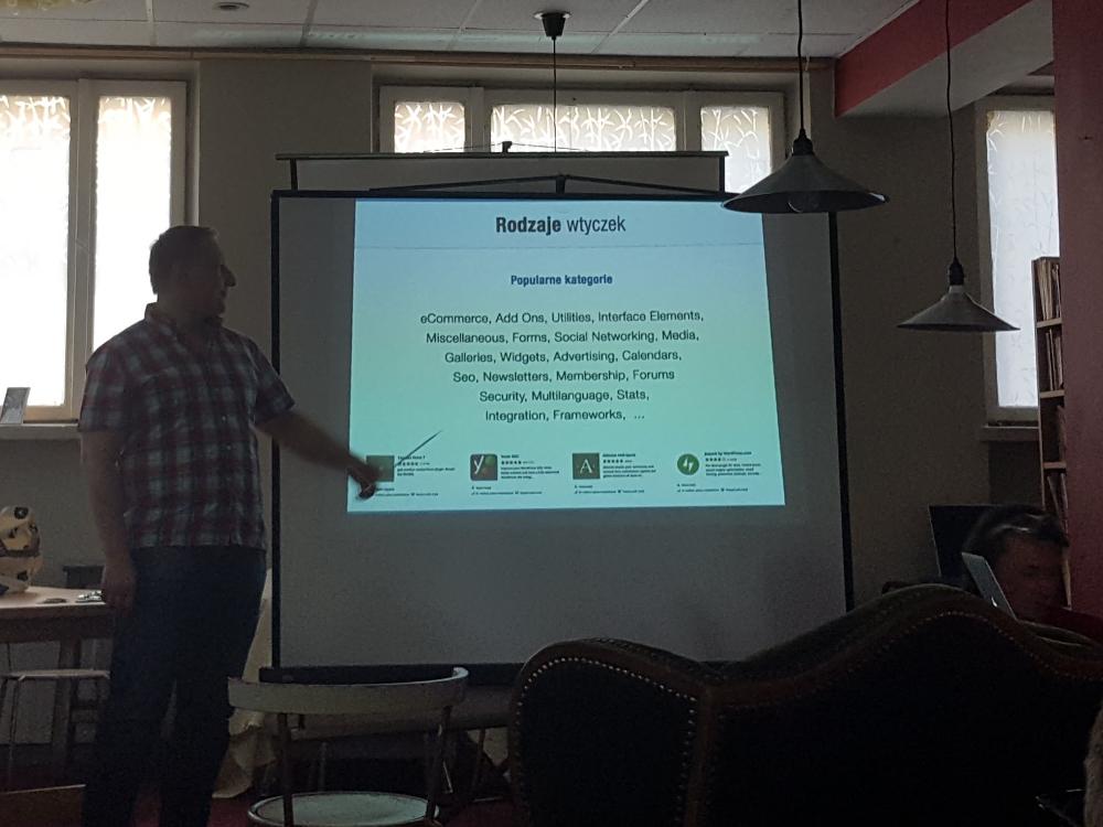 Piotr Misztal opowiada o wtyczkach do WordPressa