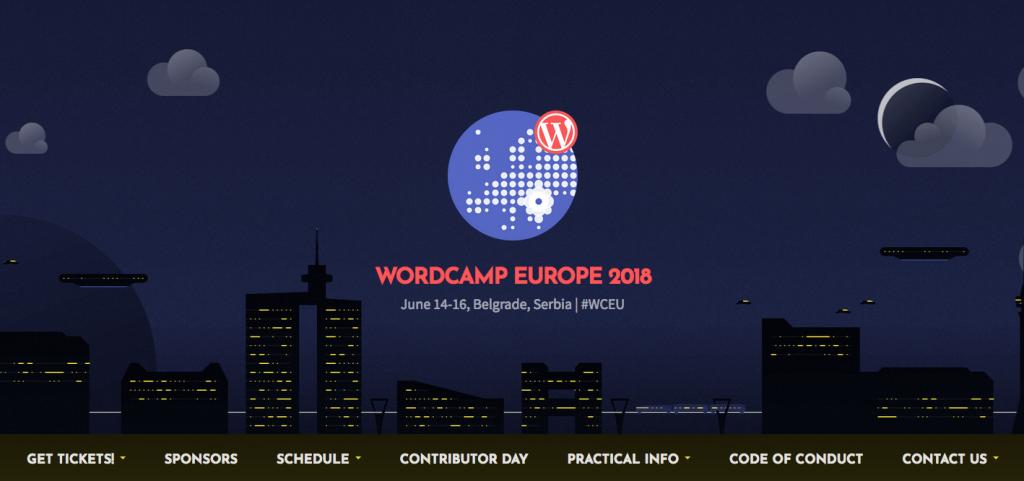 WordCamp Europe 2018 już w czerwcu
