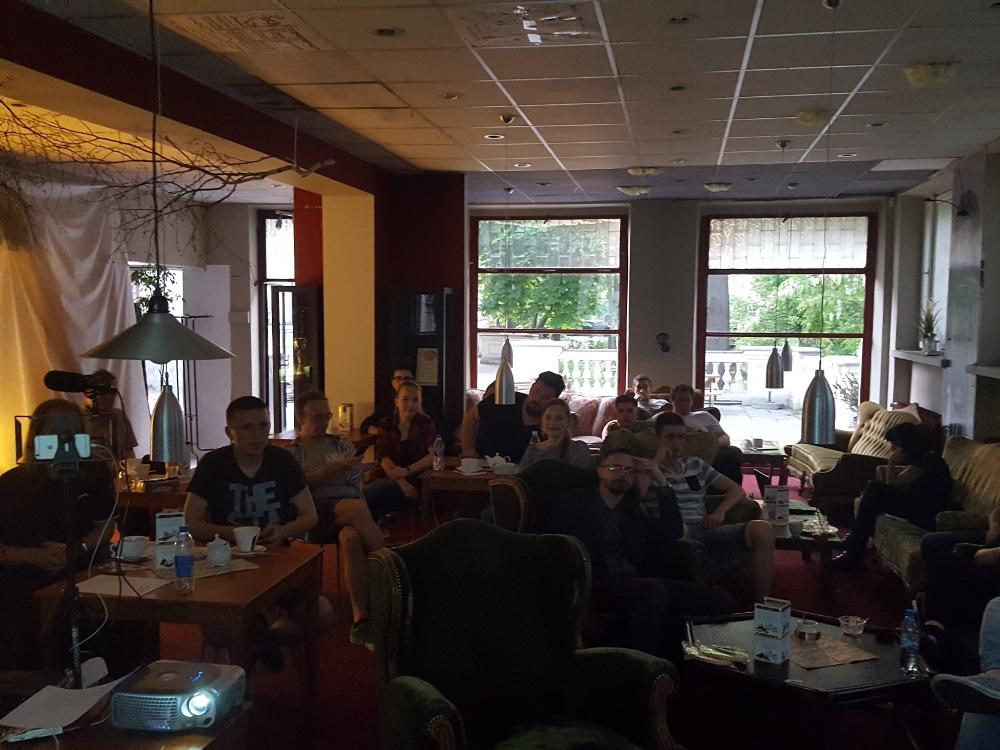 Uczestnicy WordUp Kalisz, 10 maja 2018 Cafe Kalisia