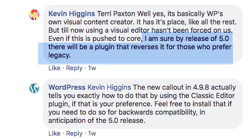 Opinie na temat nowego edytora z Facebooka