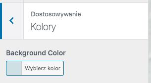 Twenty Twenty-One - kolor tła